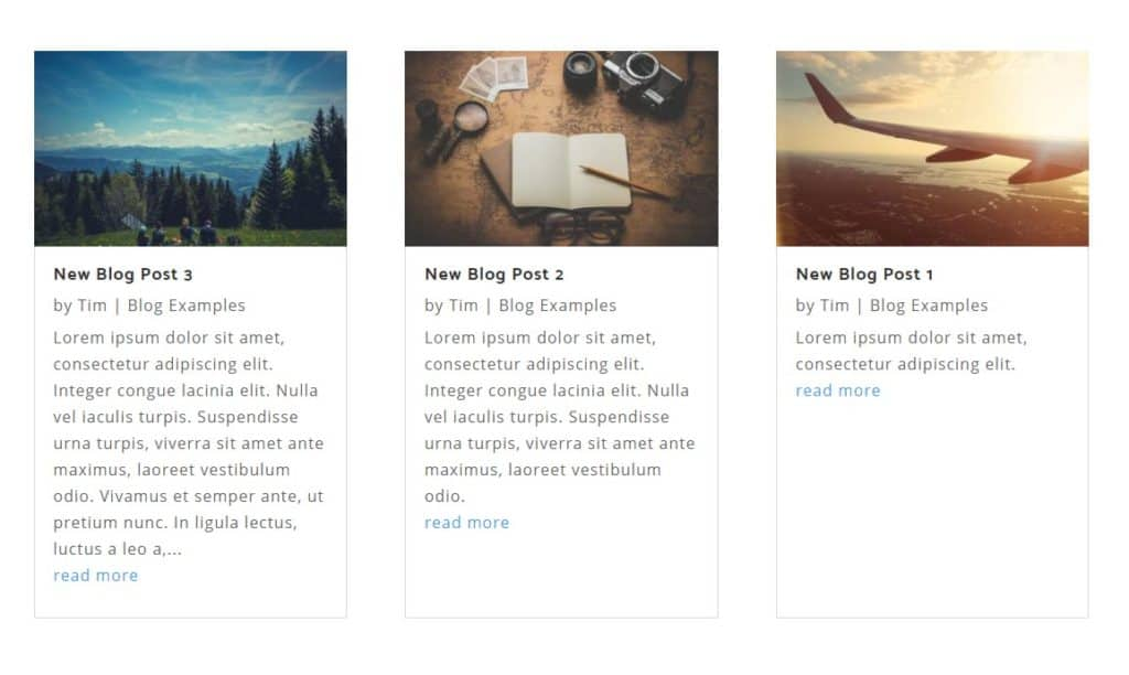 blog grid heights