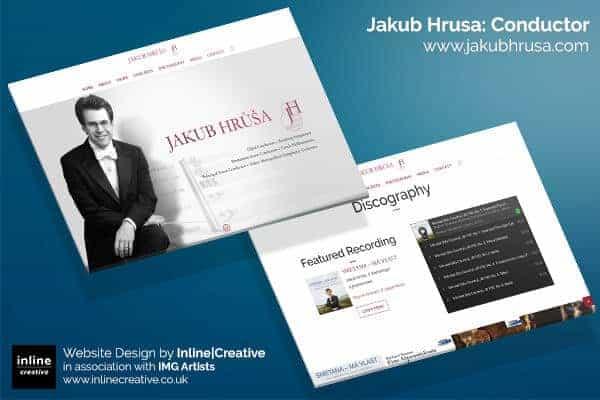 Web Design Mockup Jakub Hrusa