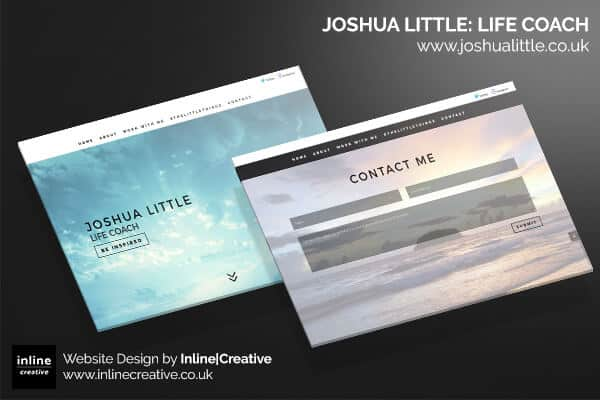 Web Design Mockup Josh Little