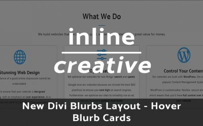 New Divi Blurb Hover Effect – Hover Blurb Cards