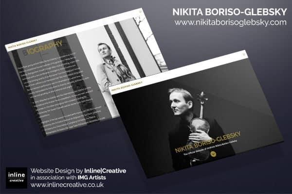 nikita boriso glebsky website design