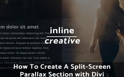 How To Create A Split-Screen Parallax Section with Divi