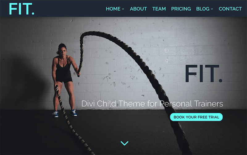 Introducing Fit. A Divi Child Theme for Personal Trainers